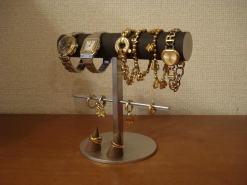 アクセサリースタンド 指輪スタンド付き(固定していません) 腕時計、ブレスレット、イヤリングスタンド