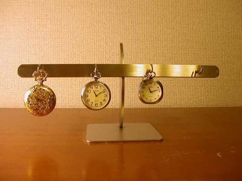 誕生日プレゼントに 4本掛け懐中時計スタンド スタンダード