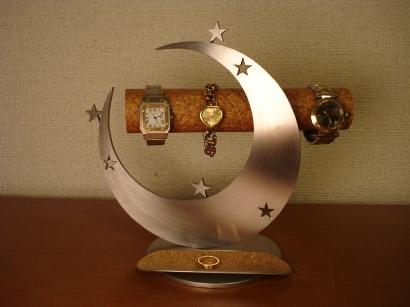 誕生日プレゼントに インテリア!スリー気まぐれスタームーン腕時計&アクセサリースタンド