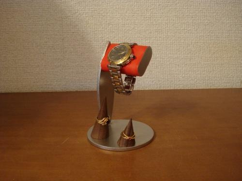 時計 スタンド ちょっと背が高いシングルレッドコルク腕時計スタンド  指輪スタンド未固定バージョン