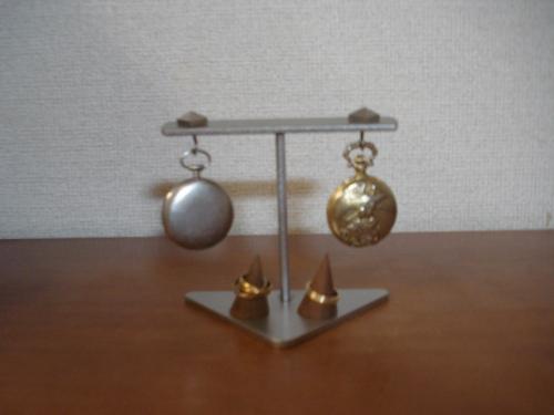 ハンドメイド インテリア懐中時計収納スタンド 指輪スタンドバージョン(未固定)