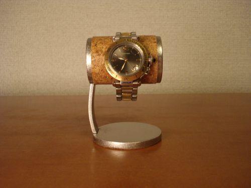腕時計 スタンド 1本掛け支柱カーブ腕時計スタンド