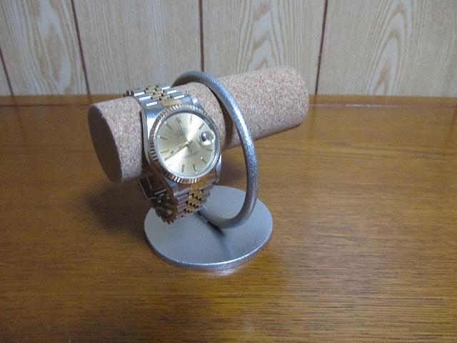 送料無料 リング支柱2本掛け腕時計スタンド