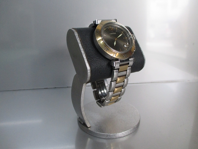 時計スタンド ウォッチスタンド プレゼント 1本用 誕生日プレゼント ノベルティー ウォッチスタンド ケース 時計置き 時計ケース ディスプレイスタンド 記念品 ギフト 贈り物 時計 飾る 腕時計 収納ブラックだ円パイプ支柱カーブ腕時計スタンド