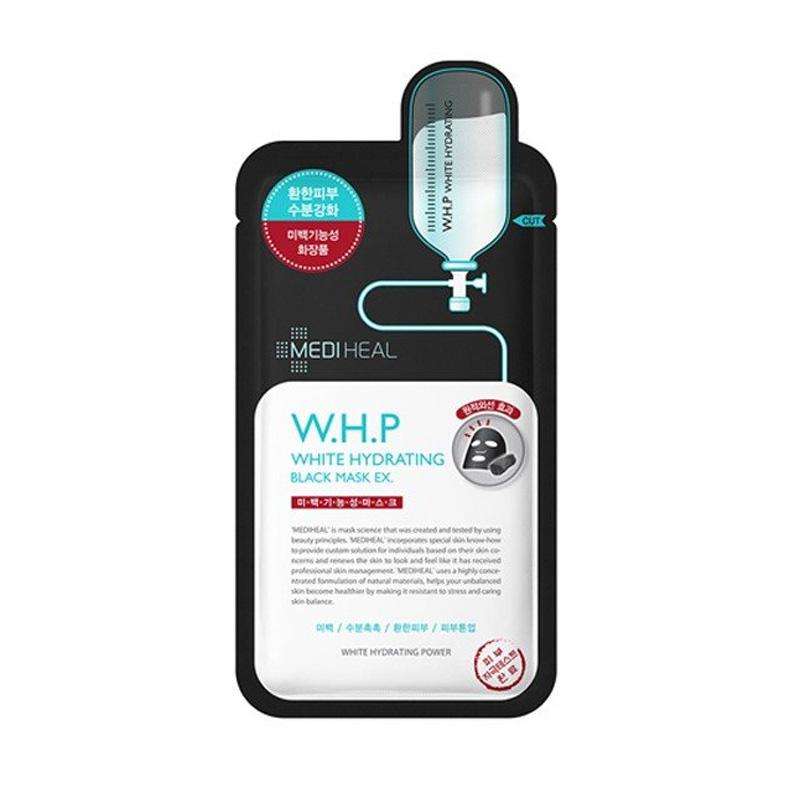 特別セール品 MEDIHEAL 安心の定価販売 メディヒール W.H.Pホワイトハイドレーティングブラックマスク 10個セット 25ml×1 メール便
