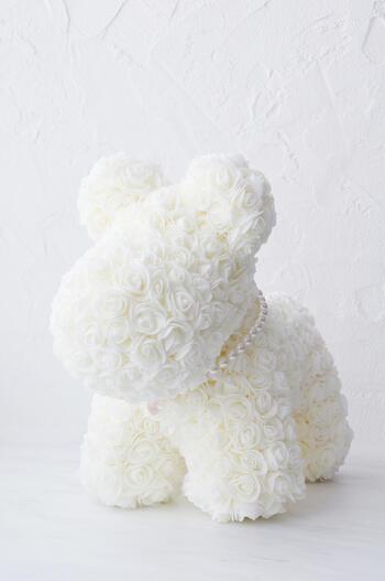 フラワードッグ(ウレタン製造花)