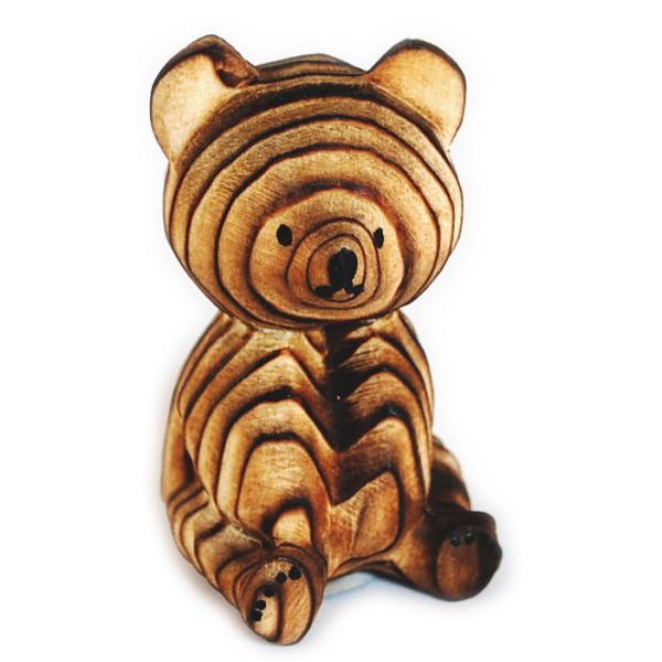 プレゼントやギフトにおすすめの木製置物 熊ボッコ 倉庫 ブランド品 置物 小 北海道 雑貨 お土産 民芸品 木 クマボッコ 熊ぼっこ オブジェ くまぼっこ ベアー 木製 グッズ