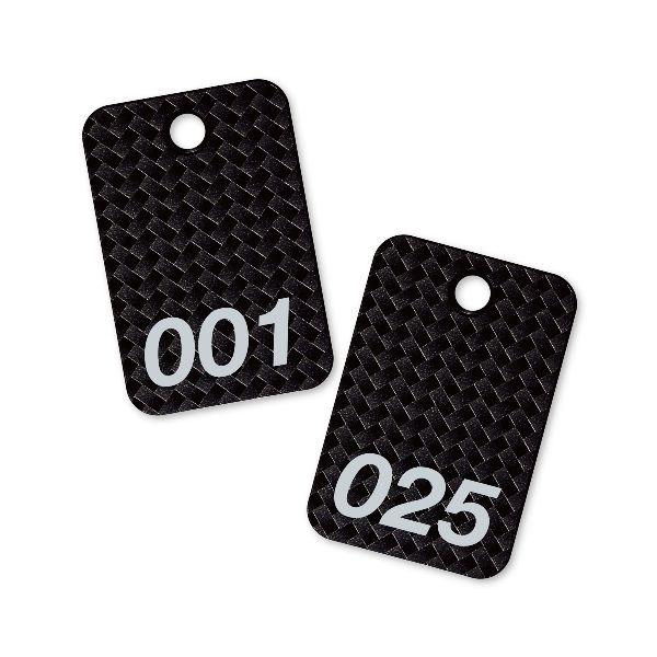 優先配送 オープン工業 BF-80-BK スチロール番号札 四角 新作通販 1~25 BF80BK 黒