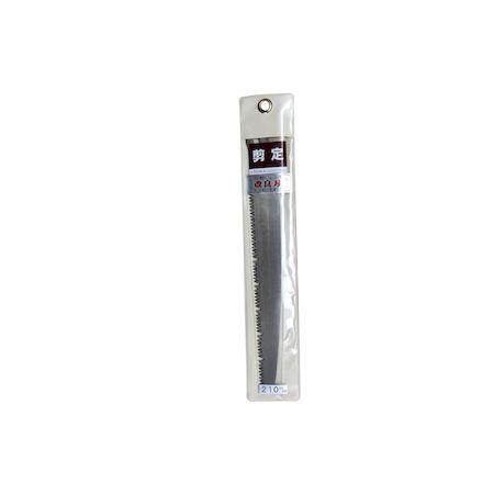ヒシカ工業 買い取り マーケット 34141 ヒシカ印 替刃式剪定鋸 210mm 替刃 改良刃