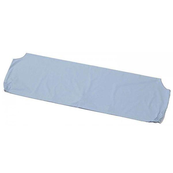 4560333930376 【3個入】 掛け布団衿カバー ずれにくいクリップ5個付 ブルー h368