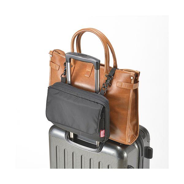 [4589591530395]【3個入】バッグをとめるポーチ ブラック GW-3102-009