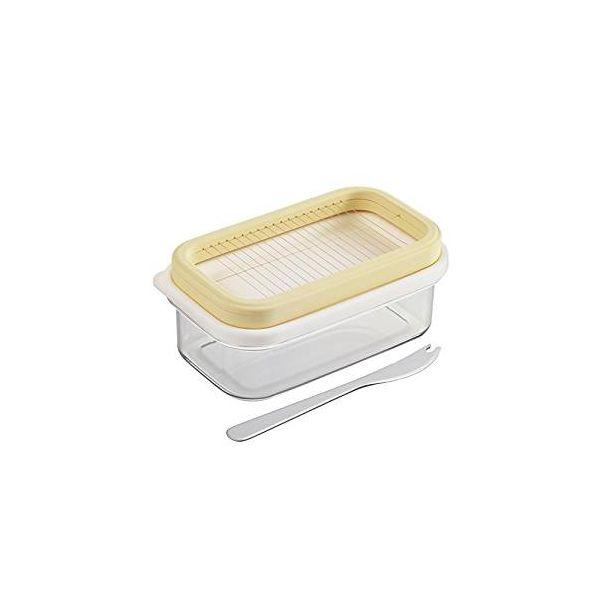 [4954267150076] 【4個入】 プレミアム カットできちゃうバターケース ST-3007