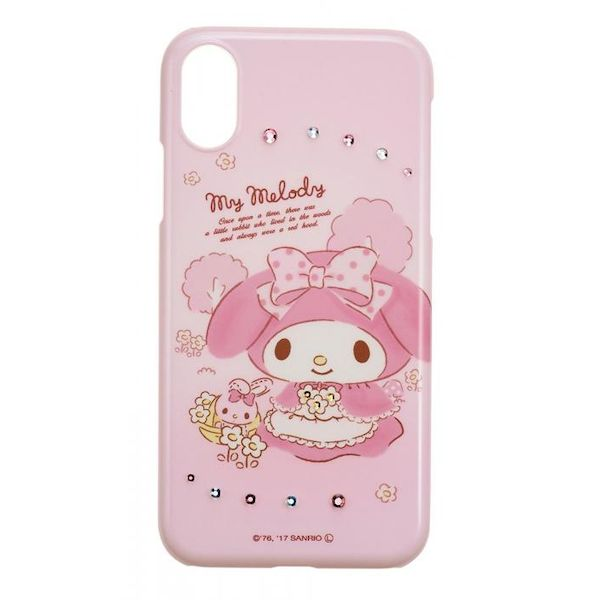 [4982416729217] 【4個入】 iPhoneX対応 マイメロディ ジュエリー MMメルヘン iP8-SA03M