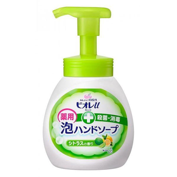[4901301289445] 【12個入】 ビオレu泡ハンドソ-プ シトラスの香り ポンプ250mL