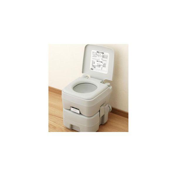 [4533478070115]本格派ポータブル水洗トイレ20L 3585