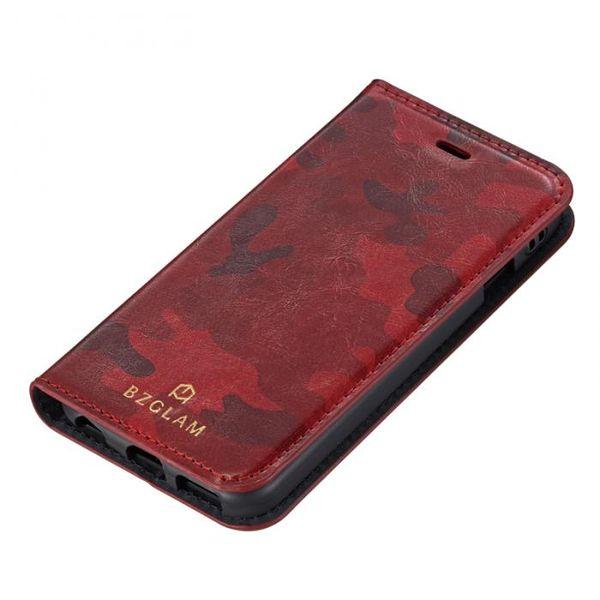[4982416725684] 【3個入】 BZGLAM カモフラージュダイヤリーカバー for iPhone6S/6レッド 36078