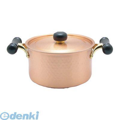 [3111000] 銅IHアンティック 両手鍋 IH-102 20 4518160006313