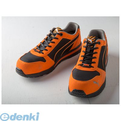 PUMA(プーマ) [4051428054713] PUMA SAFETY プーマセーフティスニーカー Airtwist Orange【オレンジ】 Low 25.0cm 64.323.0
