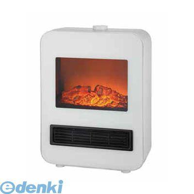 テクノス(TEKNOS) [TD-S1200(W)] 電気式暖炉セラミックファンヒーター ホワイト TDS1200(W)