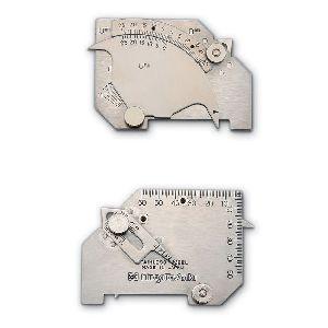 新潟精機 [WGU-7M] 溶接ゲージ WGU7M