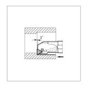 京セラ [S40T-PTUNR16-50] 内径用ホルダ S40TPTUNR1650 647-1617