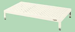 【個人宅配送不可】サカエ SAKAE JA-1860NI 直送 代引不可・他メーカー同梱不可 車上渡し 足踏台 アイボリー JA1860NI
