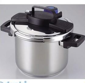 パール金属 H-5389 3層底ワンタッチレバー圧力鍋5.5L H5389【キャンセル不可】