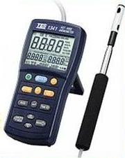 TES TES-1341 熱線式風速・風量計 TES1341