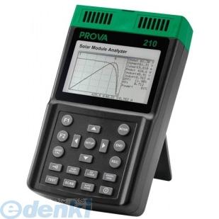 TES PROVA-210 ソーラーモジュールアナライザー 光起電I-Vカーブテスター PROVA210