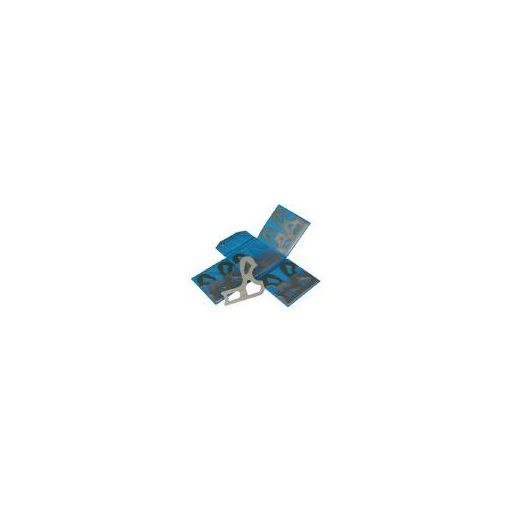 トラスコ中山 TRUSCO L300MD ラジアスゲ-ジL型測定サイズ17.5~21.08枚 229-5989 【送料無料】