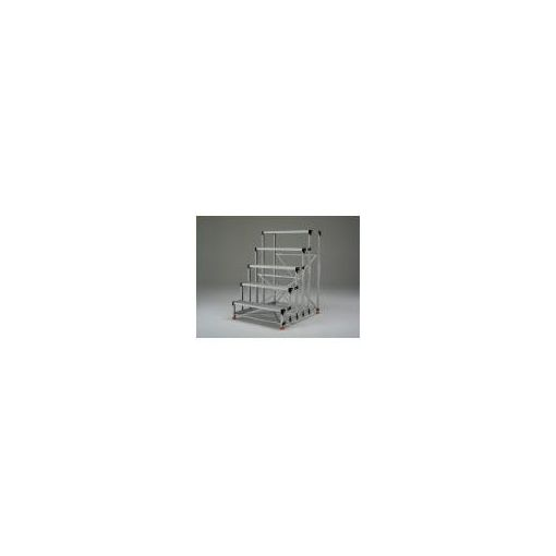 【個数:1個】トラスコ中山 TRUSCO TSF-51015 直送 代引不可・他メーカー同梱不可 アルミ合金製作業台5段 TSF51015 262-1681 【送料無料】