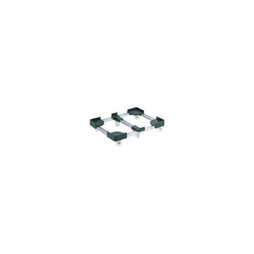 トラスコ中山 TRUSCO FCD6-40100 伸縮式コンテナ台車6輪型400x1000 F FCD640100