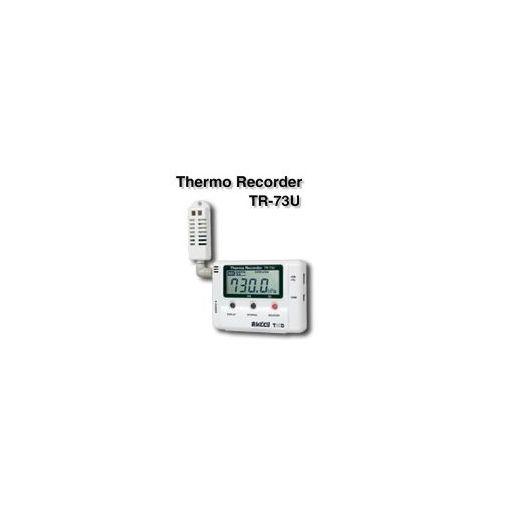 ティアンドデイ(T&D) [TR-73U] 温湿度気圧データロガ TR73U 【送料無料】