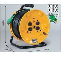 日動工業 NICHIDO NF-E34 電工ドラム 標準型100Vドラム アース付 30m N NFE34