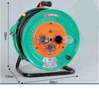【あす楽対応】【個数:1個】日動工業 NICHIDO RBW-E30S 電工ドラム 防雨防塵型びっくリール100V アース RBWE30S