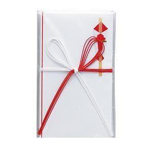 クラウン [CR-NB01] 【60セット】 金封 紅白5本花結び 字なし(5枚入 CRNB01【AKB】