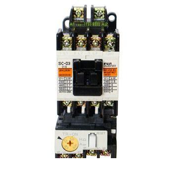 富士電機 SW-N3 SI-AC200V 11K KO-AC100V 2A2B 標準形電磁開閉器 ケースカバーなし SWN3SIAC200V11KKOAC100V2A2B