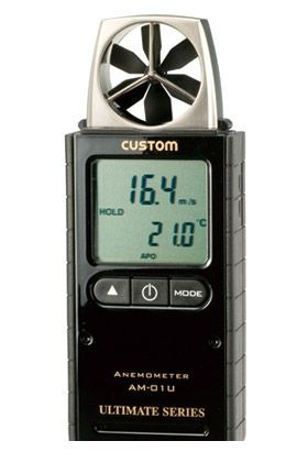 カスタム CUSTOM AM-01U デジタル風速計 AM01U 449-2048 【送料無料】