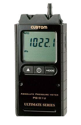 カスタム CUSTOM PG-01U デジタル絶対圧計 PG01U 449-2323 【送料無料】