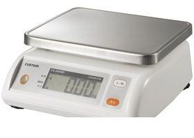 カスタム CUSTOM CS-5000WP デジタル防水はかりWPシリーズ CS5000WP 365-1789 【送料無料】