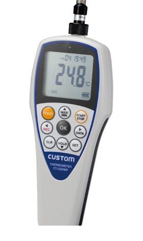 カスタム CUSTOM CT-3300WP 防水デジタル温度計 CT3300WP 449-2099 【送料無料】