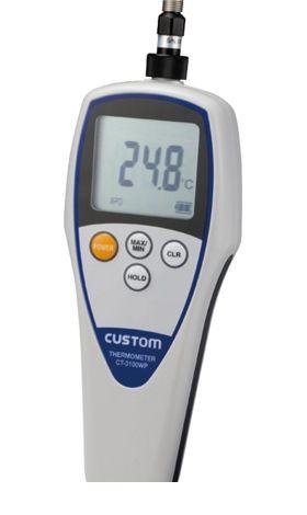 カスタム CUSTOM CT-3100WP 防水デジタル温度計 CT3100WP 449-2072