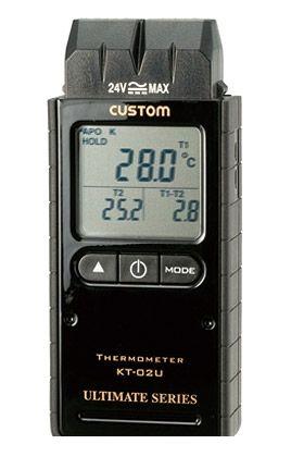 カスタム CUSTOM KT-02U デジタル温度計 KT02U 449-2269 【送料無料】