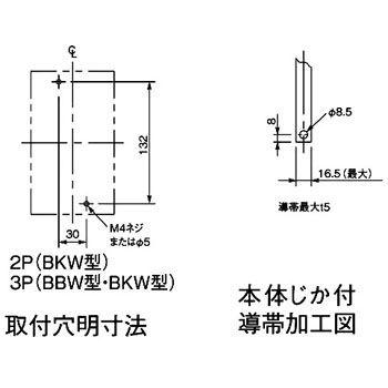 パナソニック Panasonic BBW3150SK サーキットブレーカ BBW型 盤用【キャンセル不可】