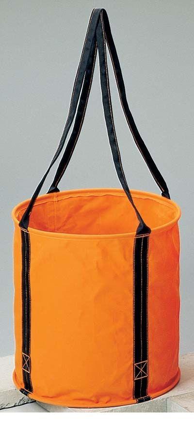 コヅチ KOZUCHI KB-02-50BOR 6号 オレンジ 防水帆布 大型電工用バケツ直径50cm×高さ50cm KB0250BOR 【送料無料】