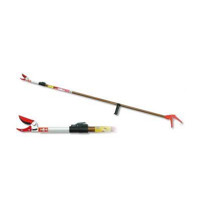 岸本農工具 カマキ 1830 6段伸縮式高枝切鋏 かるのび 全長 3.0m