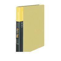 コクヨ(KOKUYO) [54347212] 【5個入】 名刺ホルダー替紙式A4縦 30穴300名収容横入黄 メイ-F335NY