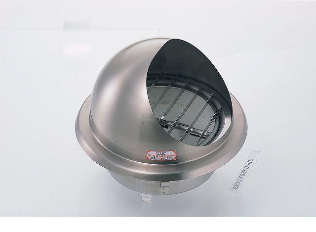 宇佐美工業 [UK-GZV100SFD-HL] 丸型フード付ガラリ FD付 UKGZV100SFDHL