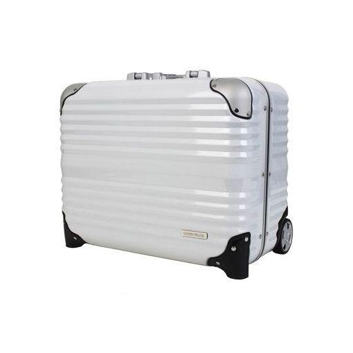 T&S(ティーアンドエス) [6200 44 ホワイトカーボン] ハードキャリーケース スーツケース 620044ホワイトカーボン
