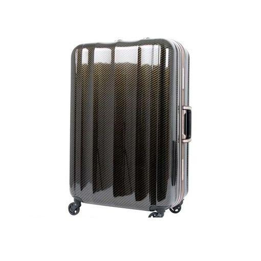 T&S(ティーアンドエス) [6702 58 ラフカーボンブラックゴールド] ハードキャリーケース スーツケース 670258ラフカーボンブラックゴールド